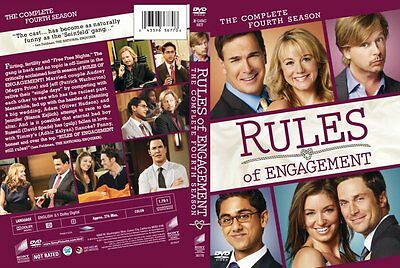 Rules of Engagement - The Complete Fourth Season (DVD, 2010)