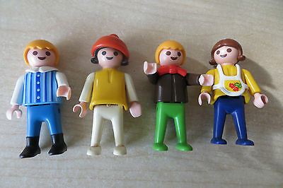 Playmobil - Figuren - 4 Kinder -