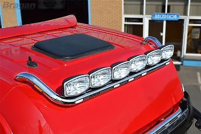 To Fit DAF XF 95 Super Space Cab Stainless Steel Front Top Roof Light Bar