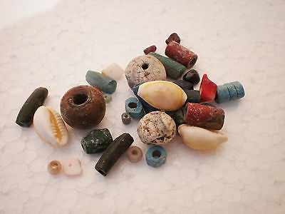 Beautiful Set RARE ANCIENT Viking BEADS Different Colors 7 - 9 century AD №4