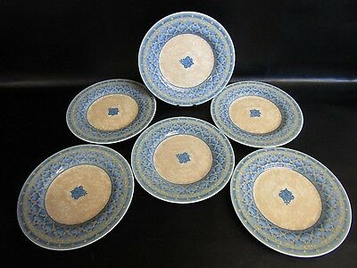 Churchill Ports Of Call Herat - Jeff Banks - 6 X Salad Plates - Mint Condition