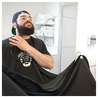 Tablier à barbe Beardilizer® - Bavoir/Cape pour se tailler la barbe