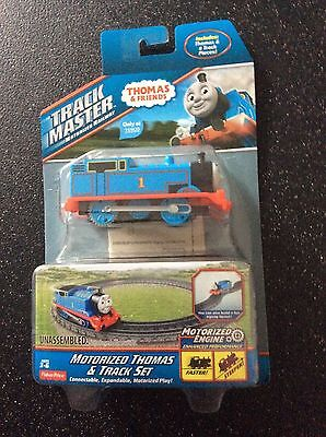 Fisher-Price Thomas & Friends TrackMaster Motorised Thomas & Track Set NEW
