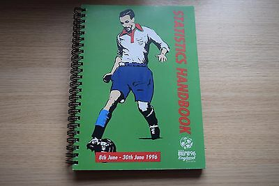 EURO 1996 (96): Statistics Handbook A5 with 300 Pages, Published for the Press