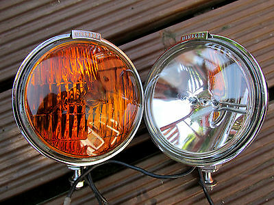 Wingard Scooter Spot Lights  Lambretta Vespa Mod Eversure