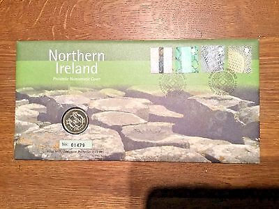Stamp & Coin First day cover - 2001 - Northern Ireland