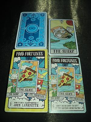 Hilarious Food Fortunes Tarot Cards Deck Game - Boxed & Complete - As New Unused