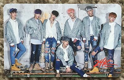 24K - Bingo The Real One Album - Official Group Photocard Kpop