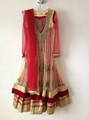 Indian Pakistani Asian Ethenic Designer Suit Party Wedding Anarkali Lehega Dress