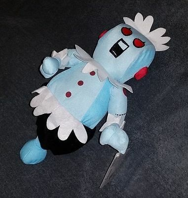 "Rosie 14"" Jetsons robot 2006 Toy Factory stuffed plush collector w/tags"