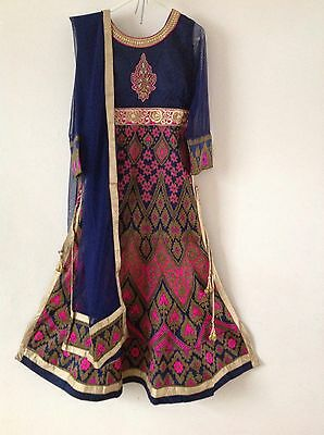 Indian Asian Ethenic Designer Suit Party Wedding Anarkali Lehega Dress
