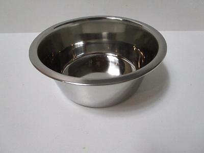 4 Cat kitten pet jumbo stainless steel bowl food or water 21cm 1.89L DIDB330