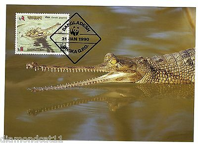 1990 Bangladesh 31/1/90 Endangered Wildlife SG341 FINE USED R27673