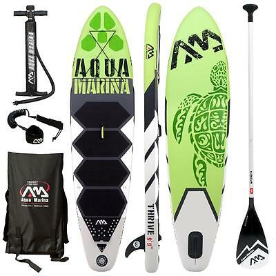 AQUA MARINA THRIVE SUP inflatable Stand Up Paddle Surfboard Paddle board
