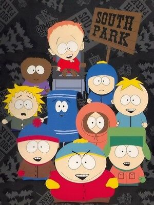 South Park Eric Cartman kyle Towelie Timmy Comedy Central Print POSTER Affiche