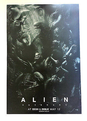 Alien Covenant Movie Promo Poster May 2017. Odeon/imax