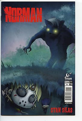 Norman #1 Cover A 1st Print RARE Titan Books Stan Silas Sold Out NM