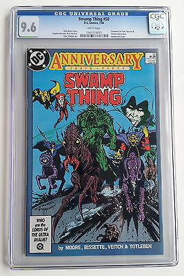 SWAMP THING #50 (1986) CGC 9.6 FIRST 1st APPEARANCE JUSTICE LEAGUE DARK