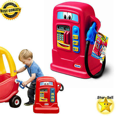 kids cozy pumper little tikes toddler vehicle coupe cars gas pump electronic toy
