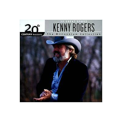 20th Century Masters -The Millennium Collection:Best of Kenny Rogers (CD) NEW!!