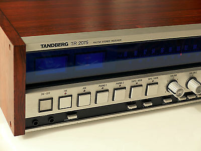 Tandberg TR 2075 Vintage Stereo Receiver  - Fully Serviced by Tandberg Engineer
