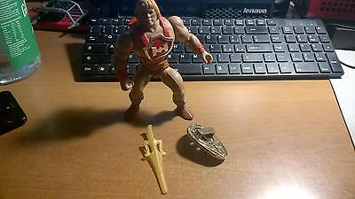 THUNDER PUNCH HE MAN  MASTERS OF THE UNIVERSE COMPLETO mattel vintage