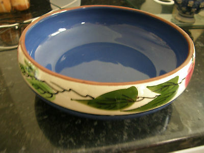 Torquay Pottery, Fruit Bowl 9 Inch Across, No Cracks or Chips