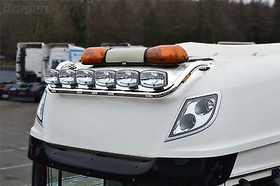 To Fit 13+ DAF XF 106 Super Space Cab Roof Light Bar + Flush LED + Spots TYPE B