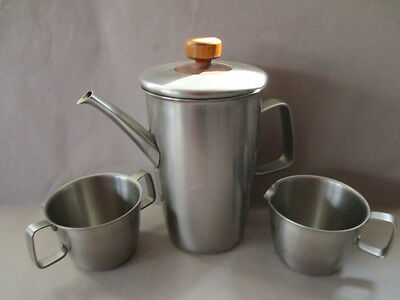 Gerald Benney For Viners Water, Milk And Sugar Bowl