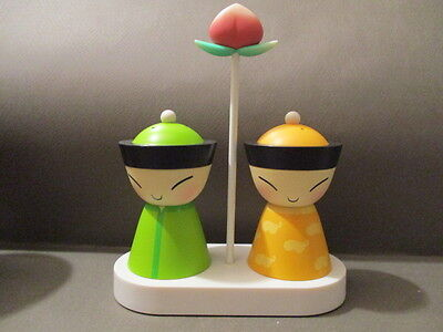 Alessi King And Queen Chin Salt & Pepper - Giovannoni / Takeda