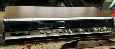 Quadraline 4 Channel Sound by Motorola.  Stereo Radio 8 track player. Rare