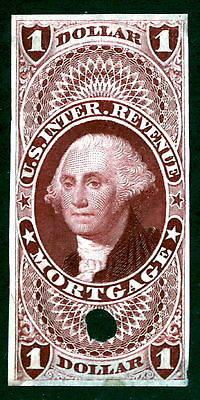 US R73TC3 $1 Mortgage Revenue Trial Color Proof VF SCV $85 (-001)