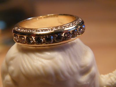 Yellow Gold Anniversary Ring - Reduced!