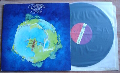 Yes Fragile Lp 1971 Uk Atlantic Red/plum 1St Press A1B1 Booklet M- Vinyl