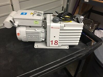Edwards E1M18 Rotary Vane Pump, Rebuilt By WN Scientific
