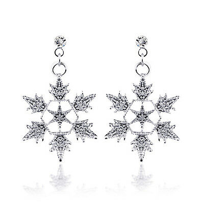 Bridal Necklace/Dangle Accessories Sets Crystal Snowflake  Pendant Jewelry Set