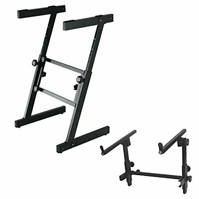 On Stage KS7350 Pro Folding Z Keyboard Stand with 2nd Tier for KS7350 Stand