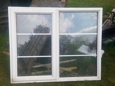 UPVC Double Glazed Window in White