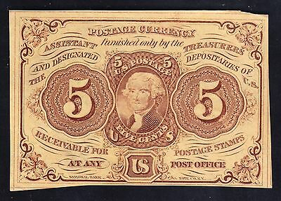 US 5c Fractional Currency FR1230 CU