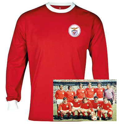 Benfica retro football soccer shirt