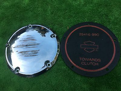Harley Davidson  Clutch Cover & Gasket  Hd Classic Derby Cover