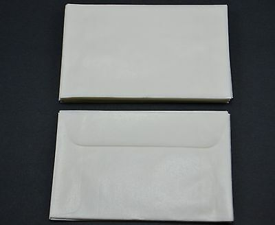 """lot of 500 # 2 GLASSINE ENVELOPES 2 5/16 x 3 5/8"""" GUARDHOUSE STAMP COLLECTING"""