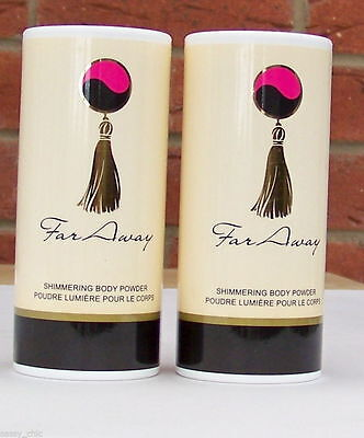 AVON Far Away Shimmering Perfumed Body Powder/Talc choose quantity NEW (66)