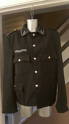 Mens Vintage Fancy Dress Theatre Handmade Military  Coat / Jacket Size