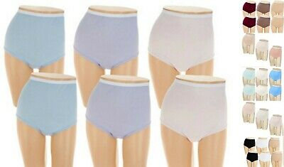 Breezies~Cotton Womens Briefs Panties~A22767~Choice of Sizes and Colors