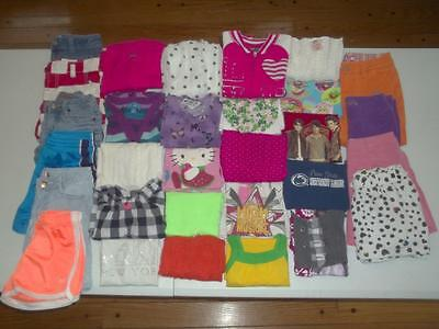 30pc Girls size 7 Spring Summer lot Nike Justice Old Navy Gap dress clothes