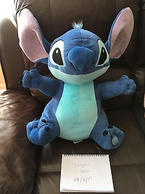 """Authentic Official Disney Store Lilo & Stitch Huge 21""""+ Soft Plush Cuddly Toy"""