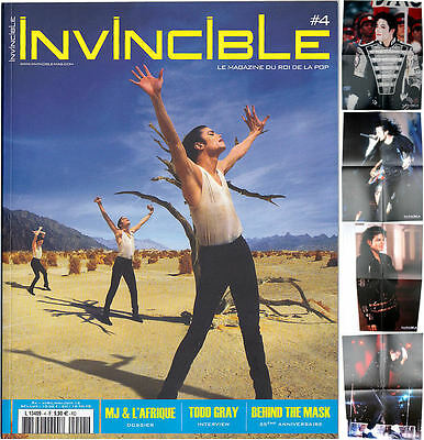 Michael Jackson INVINCIBLE Nr 4 French FR Magazine Poster Posters 2015