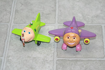 """Jay Jay the Jet Plane Toys Lot of 2 3"""" Planes"""