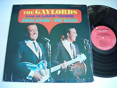 The Gaylords Live at Lake Tahoe 1960's Stereo LP VG++
